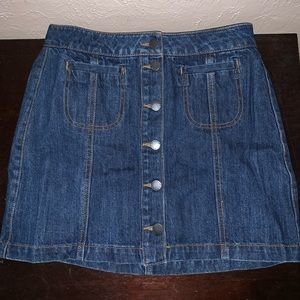 TILLY'S JEAN SKIRT